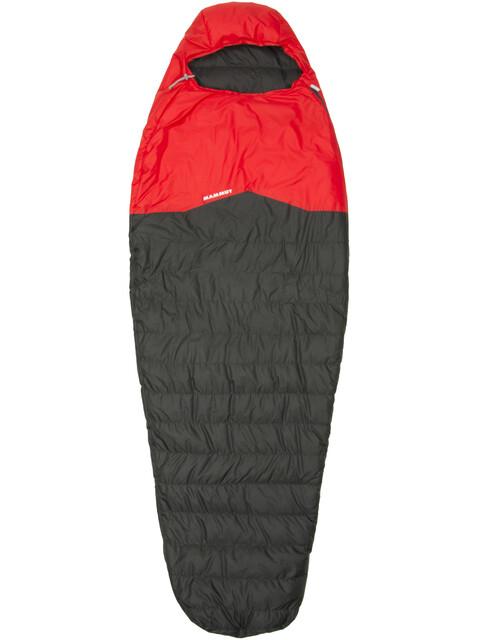 Mammut Nordic Down Spring Sleeping Bag 195cm graphite-fire